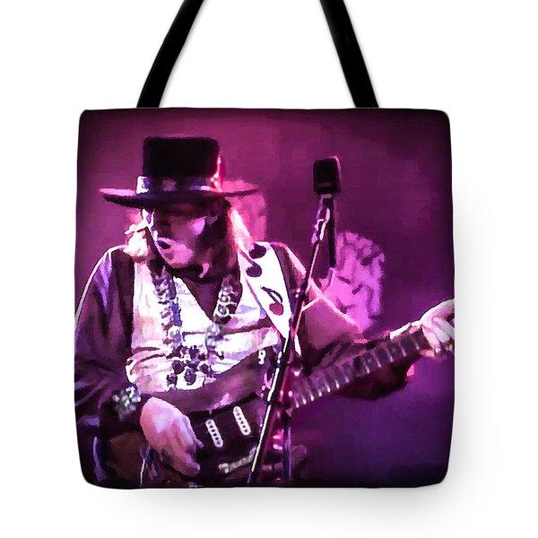 Stevie Ray Vaughan - Change It Tote Bag