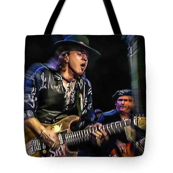 Stevie Ray Vaughan - Couldn't Stand The Weather Tote Bag