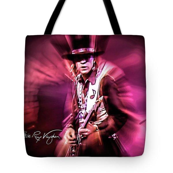 Stevie Ray Vaughan - Crossfire Tote Bag
