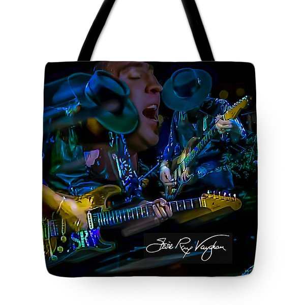 Stevie Ray Vaughan - Double Trouble Tote Bag