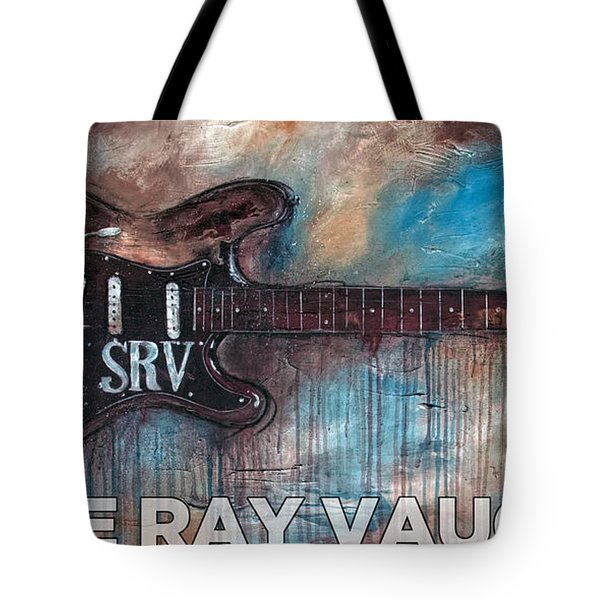 Stevie Ray Vaughan Double Trouble Tote Bag