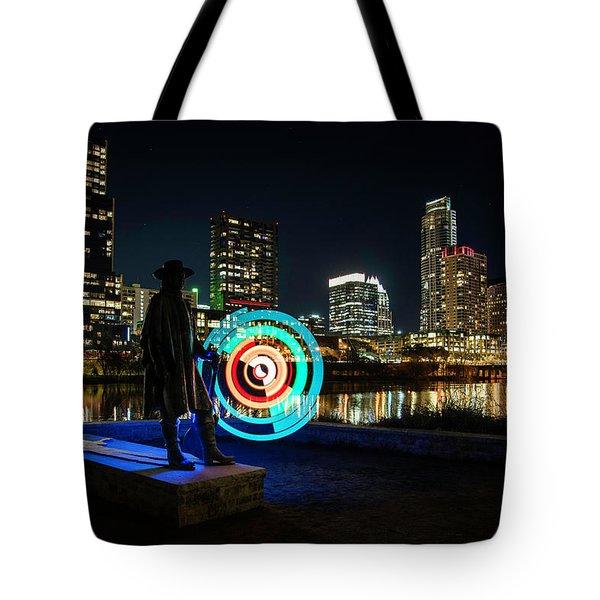 Stevie Ray Vaughan Tote Bag