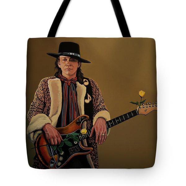 Stevie Ray Vaughan 2 Tote Bag by Paul Meijering
