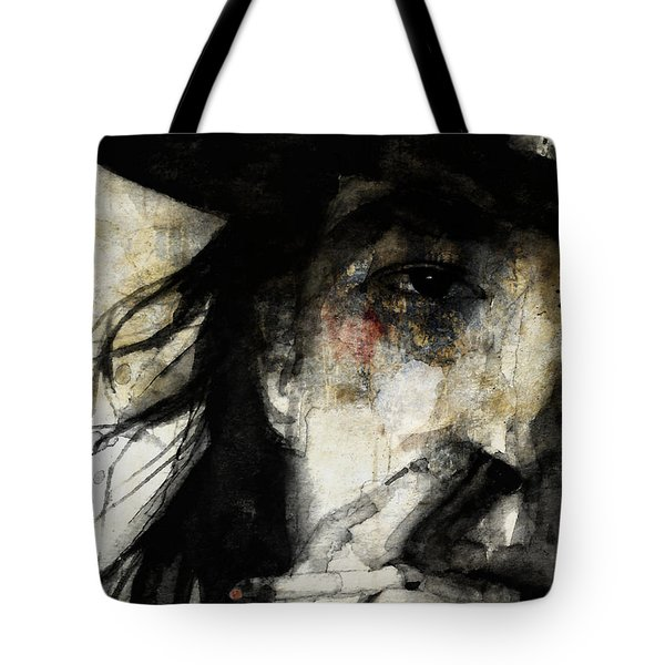 Stevie Ray Vaughan Retro Tote Bag