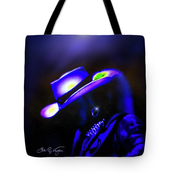 Stevie Ray Vaughan -  Superstition  Tote Bag