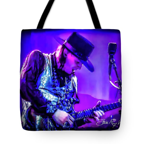 Stevie Ray Vaughan - Tightrope Tote Bag