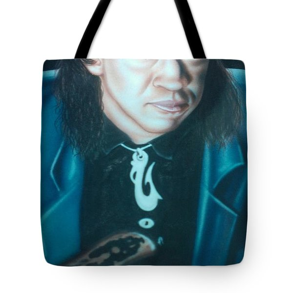 Stevie Ray Vaughn Tote Bag