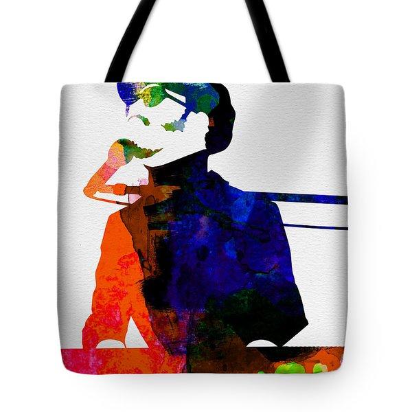 Stevie Watercolor Tote Bag