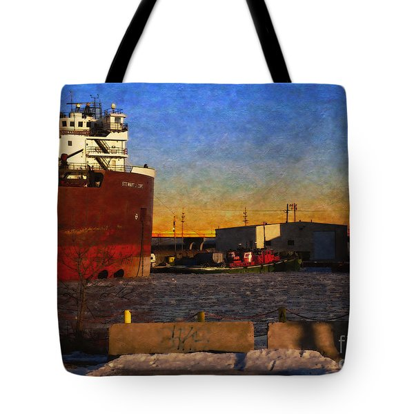 Tote Bag featuring the digital art Stewart J. Cort by David Blank