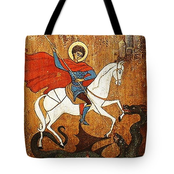 St.george Tote Bag by Rae Chichilnitsky