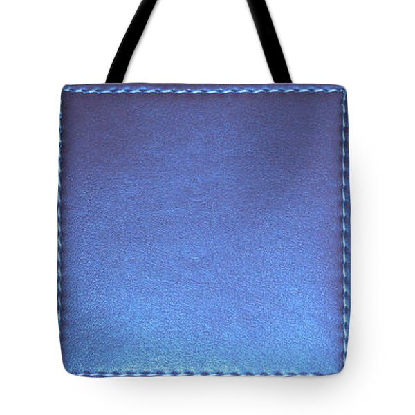 Stiched Leather Look Blue Abstract Wall Decorations By Navinjoshi At Fineartamerica.com Download Jpg Tote Bag