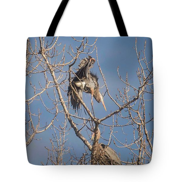 Tote Bag featuring the photograph Stick Acceptance by David Bearden