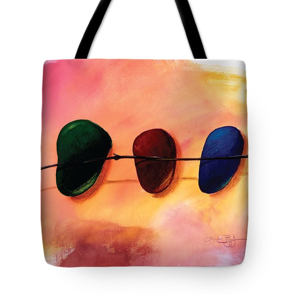 Stick And Stones Tote Bag
