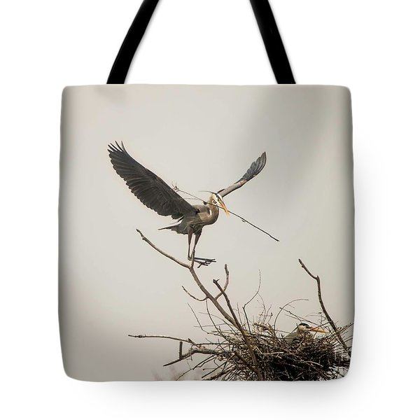 Tote Bag featuring the photograph Stick Man by David Bearden