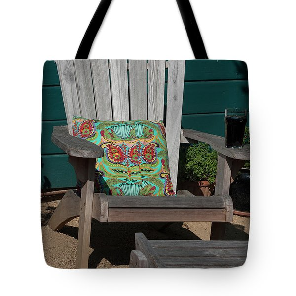 Stick Your Feet Up A While Tote Bag