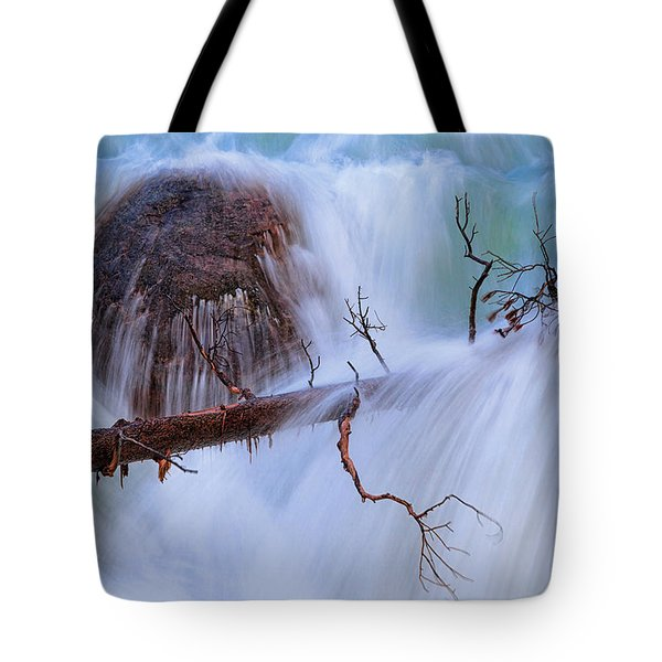 Tote Bag featuring the photograph Sticks And Stones by Rick Furmanek