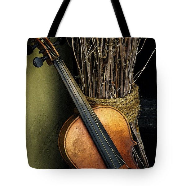 Sticks And Strings Tote Bag