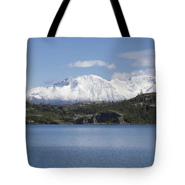 Stikine Mountains 7 Tote Bag