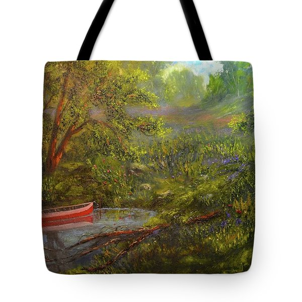 Still And Peaceful Tote Bag