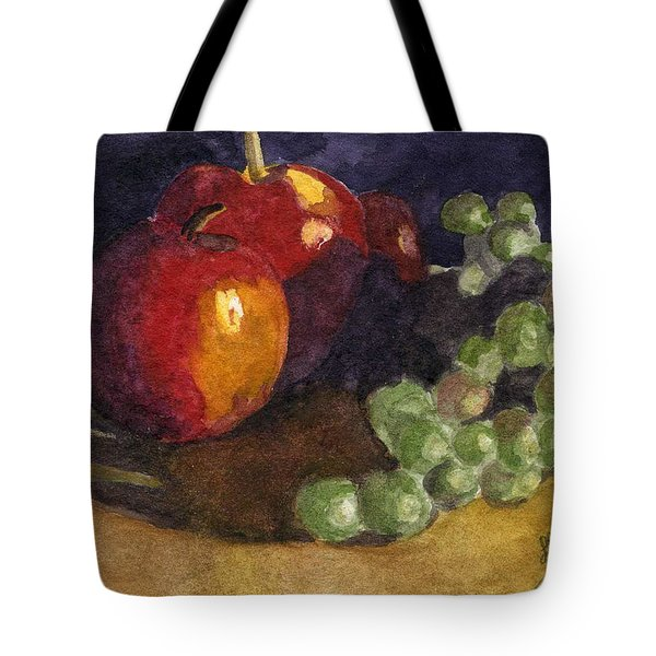Still Apples Tote Bag by Lynne Reichhart