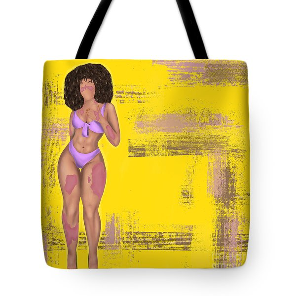 Tote Bag featuring the digital art Still Beautiful by Bria Elyce