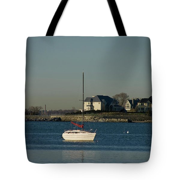 Still Boat Tote Bag