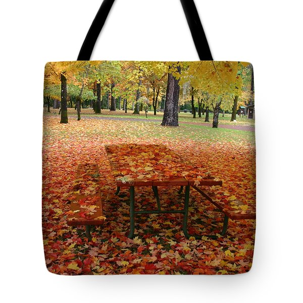 Still Fall Tote Bag