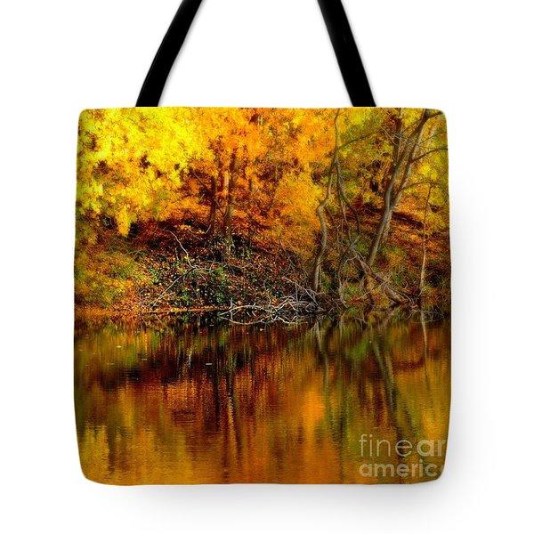 Still Gold Tote Bag