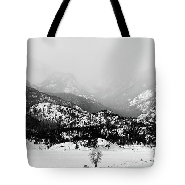 Tote Bag featuring the photograph Still Holding The Fort by Silke Brubaker