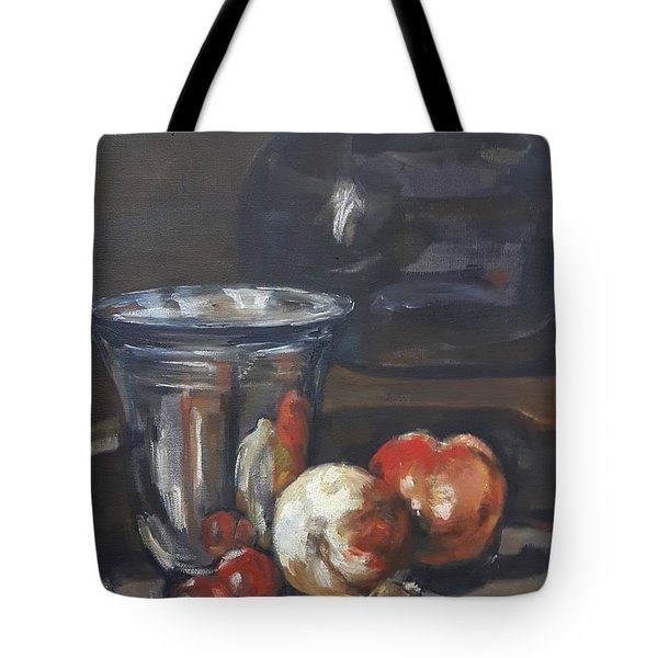 Still In Oil After Paul Chardin Tote Bag