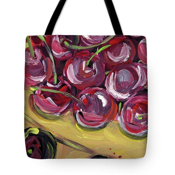 Still Life 135. Cherries Tote Bag