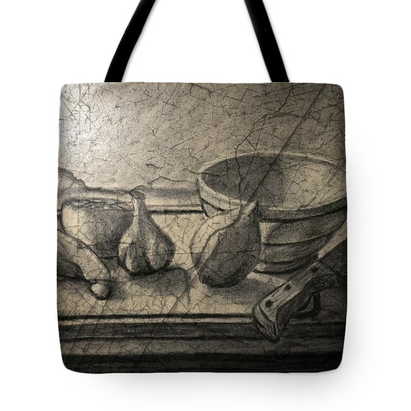 Still Life 89 Tote Bag by Edgar Torres