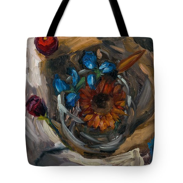 Still Life Abstract Tote Bag