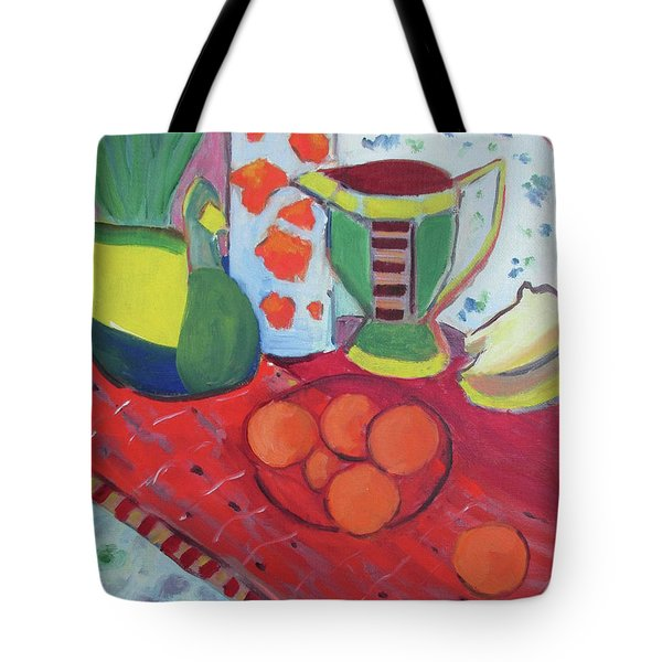 Still Life After Matisse Tote Bag