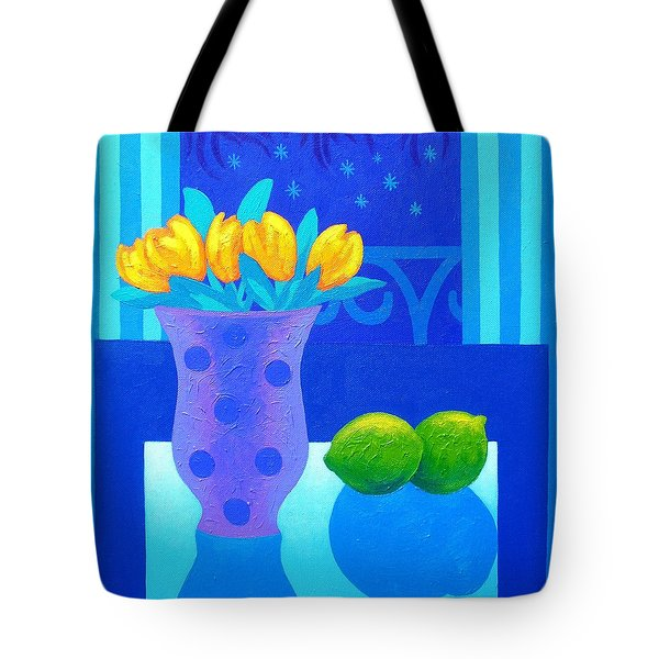 Still Life At Window IIi Tote Bag by John  Nolan