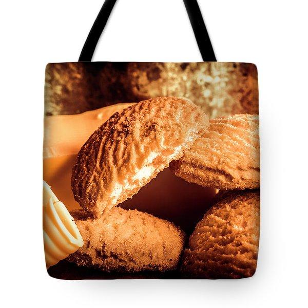 Still Life Bakery Art. Shortbread Cookies Tote Bag