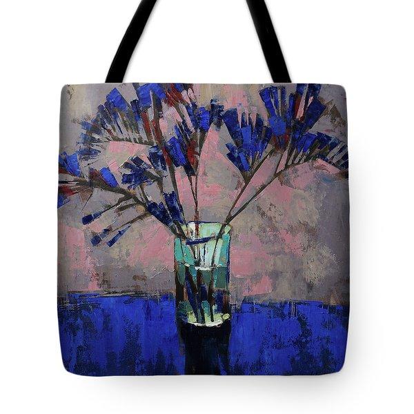 Still Life. Blue Crystal. Tote Bag