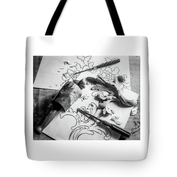 Still Life Carving Still Life Tote Bag