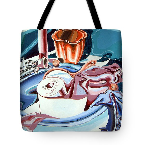Still Life For Bathroom  Tote Bag