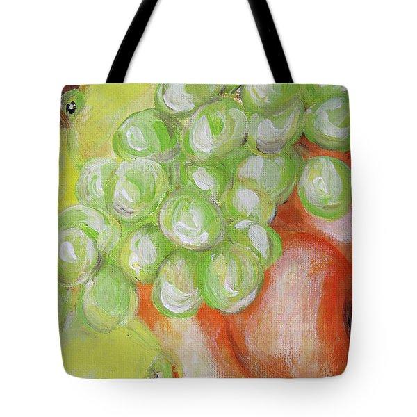 Still Life. Grapes. Fruits.  Tote Bag