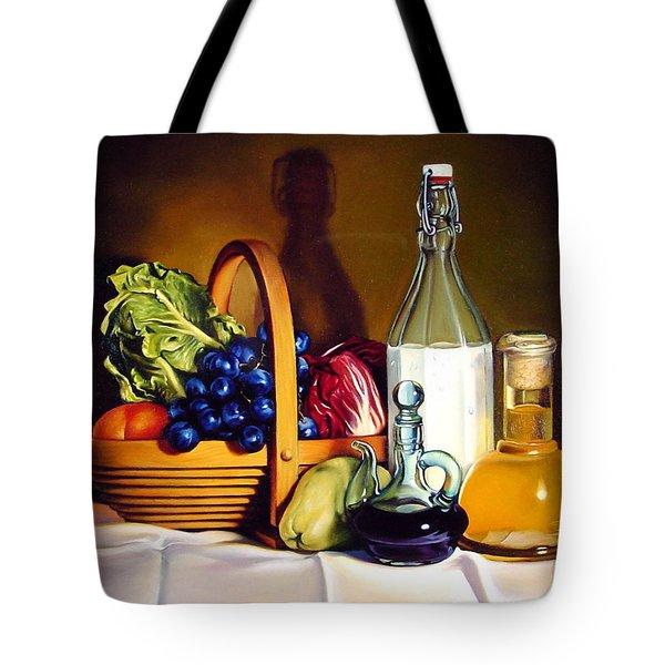 Still Life In Oil Tote Bag