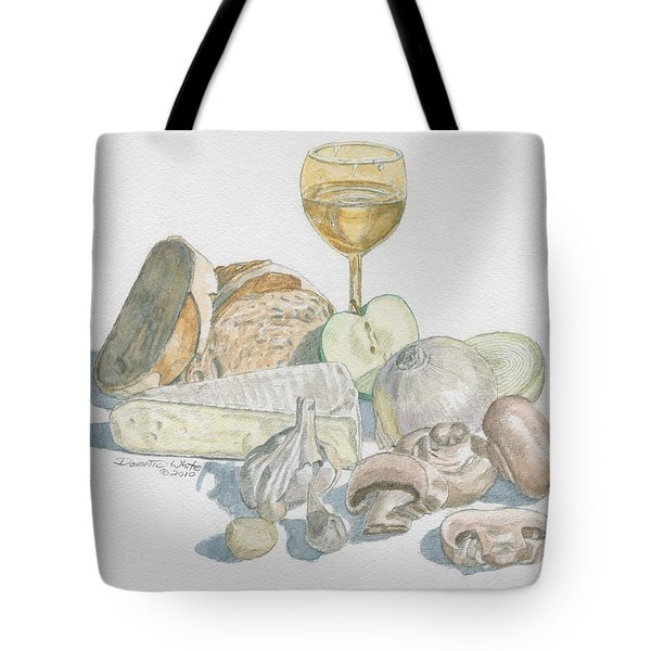 Still Life Of White Food Tote Bag