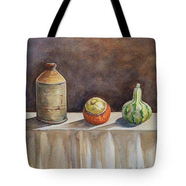 Still Life On A Table Tote Bag