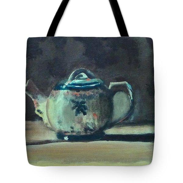 Still Life Teapot And Sugar Bowl Tote Bag