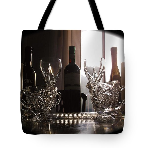 Still Life - The Crystal Elegance Experience Tote Bag
