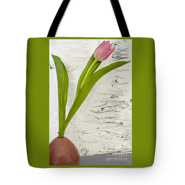Tote Bag featuring the photograph Still Life Tulip by Marsha Heiken