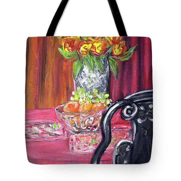 Still Life. Welcome Tote Bag