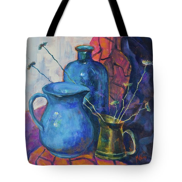 Still Life With A Blue Bottle And The Other Subjects Tote Bag