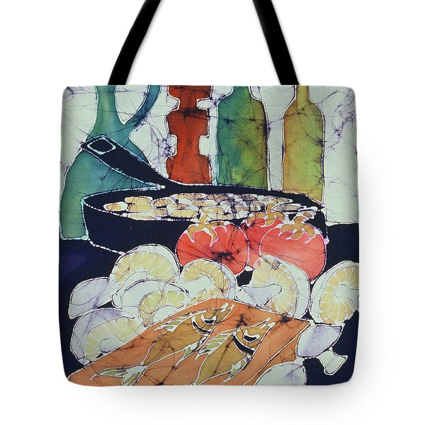 Still Life With Blues Tote Bag by Carol  Law Conklin