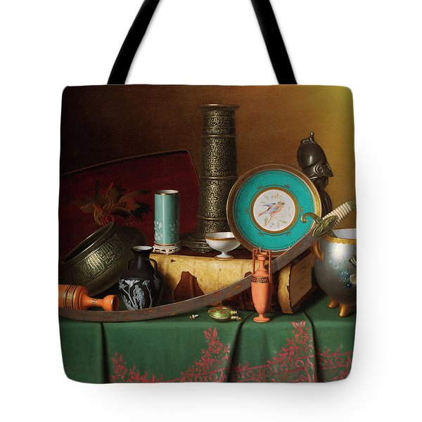 Still Life With Bric-a-brac Tote Bag